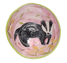 Load image into Gallery viewer, Badger Bowl by Maria Counts