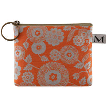 Load image into Gallery viewer, Coin Purse in Parasol Orange by Maruca Design