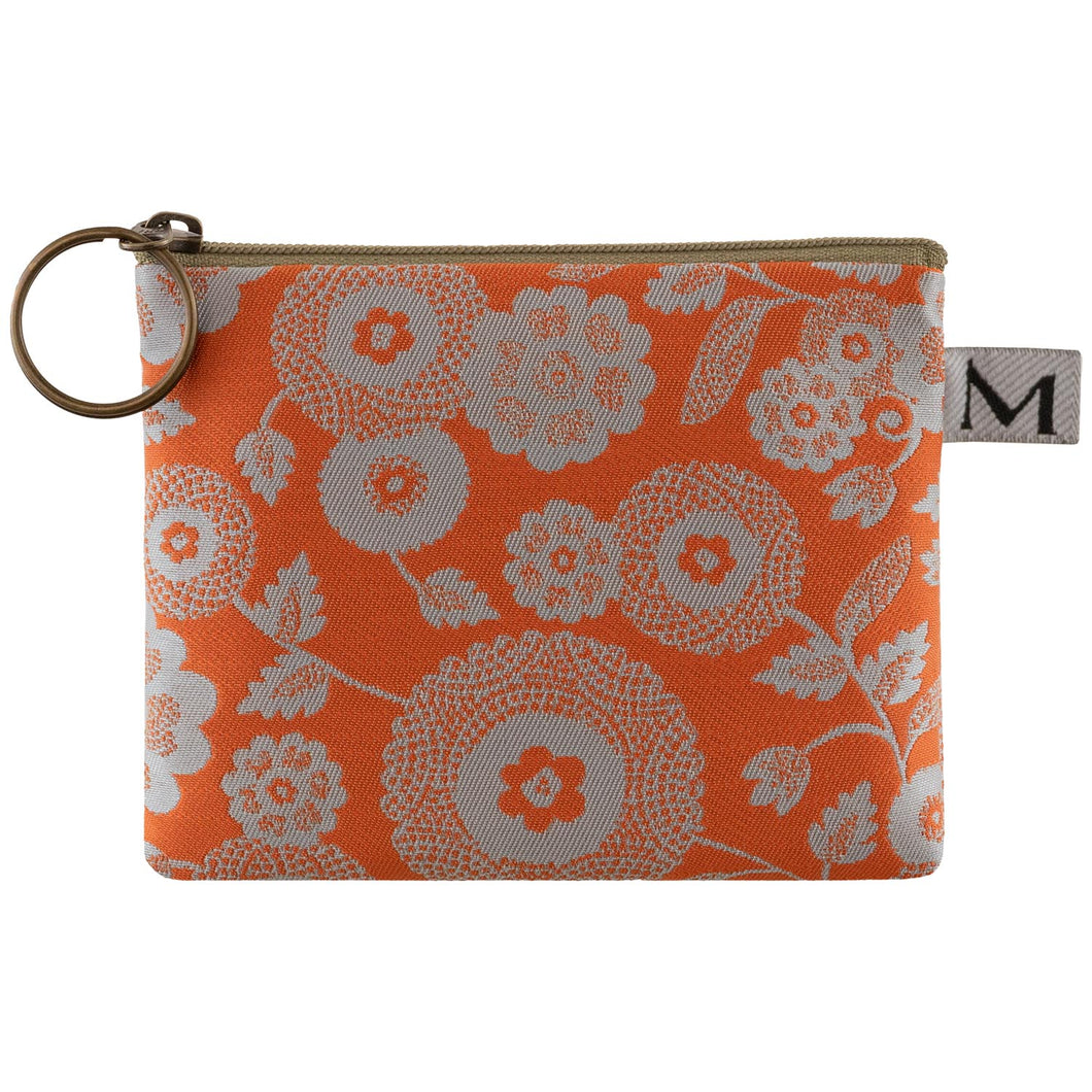 Coin Purse in Parasol Orange by Maruca Design