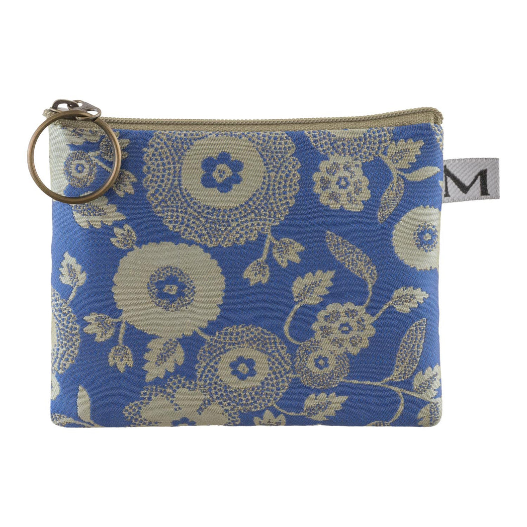 Coin Purse in Parasol Blue by Maruca Design