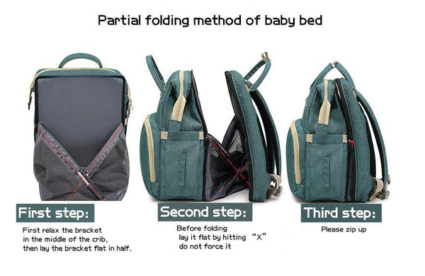 Baby Crib Diaper Bag