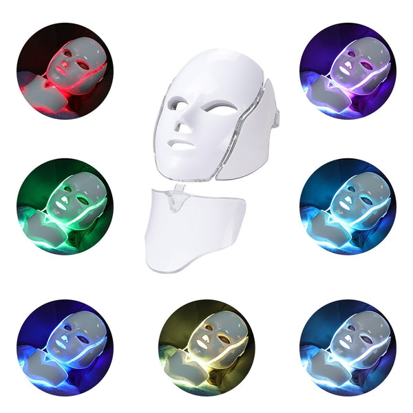 LED Facial Beauty Mask | Photo Therapy Technology | 7 colors