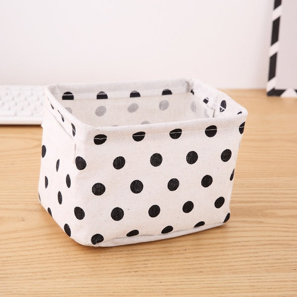 Storage Basket for Toy Storage , Cosmetic Organizer, Stationery Container, Laundry Basket