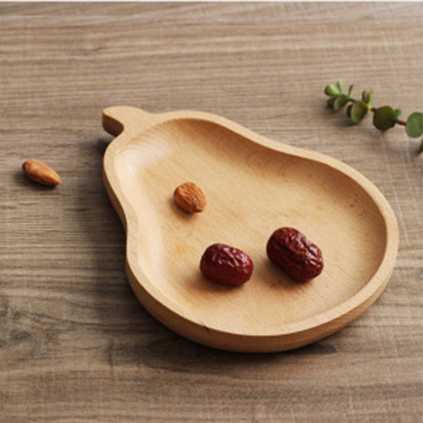 Cartoon Wooden Dishes Plates for Kids