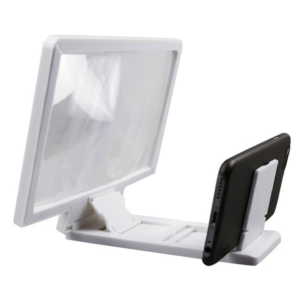 Cell Phone Screen Magnifier With Foldable Holder Stand 3D HD Movie Video Amplifier 1 pcs