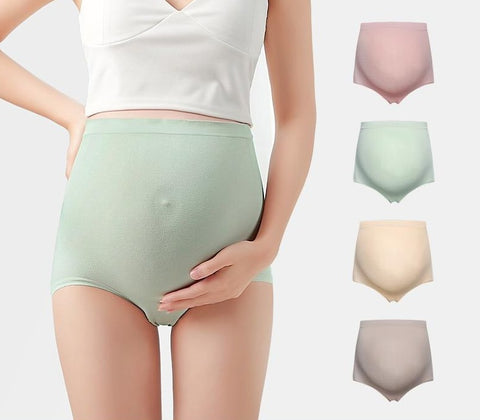 Seamless Stretchable High Waist Maternity Underwear