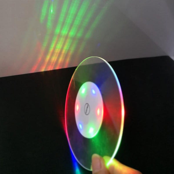 Acrylic Crystal Ultra-Thin Led Light Coaster