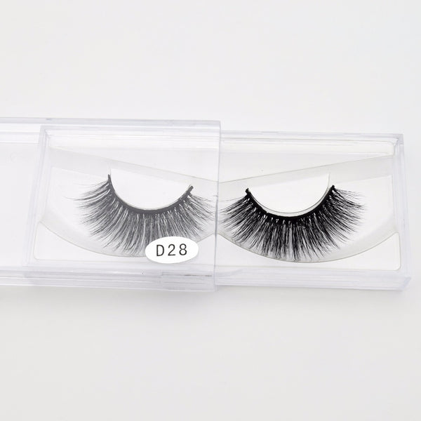 3D Silk Hand Made Natural Long Mink Vegan Eyelashes