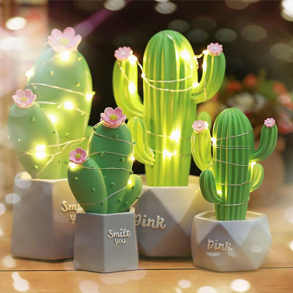 Cactus LED Table Desk Lamp