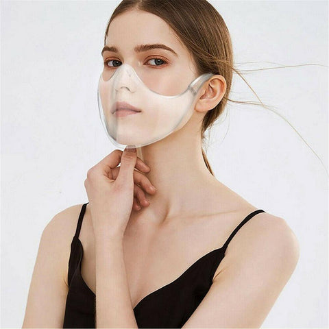 Reusable Clear Face Shield Mask
