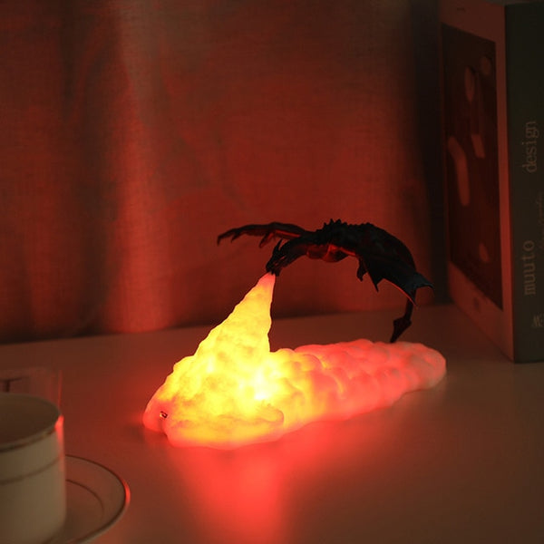 Dragon Desk Night LED Lamp
