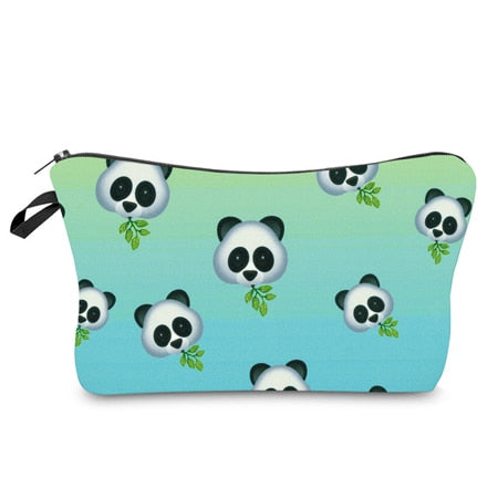 Cute Printed Makeup Pouches