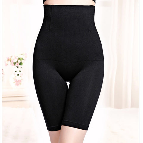 Women's Postpartum High Waist Seamless Body Shaper Shorts