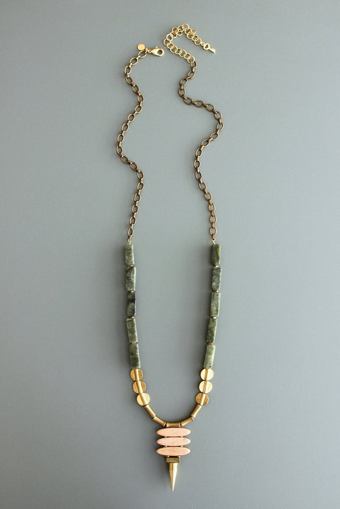 Athena Spike Necklace