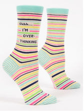 Load image into Gallery viewer, Shhh...I'm Overthinking Women's Socks