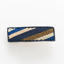 Load image into Gallery viewer, Seed Bead Wide Barrette