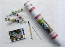 Load image into Gallery viewer, Sensitive Succulent Paint by Number Kit