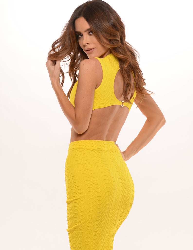 Wavy Yellow Set