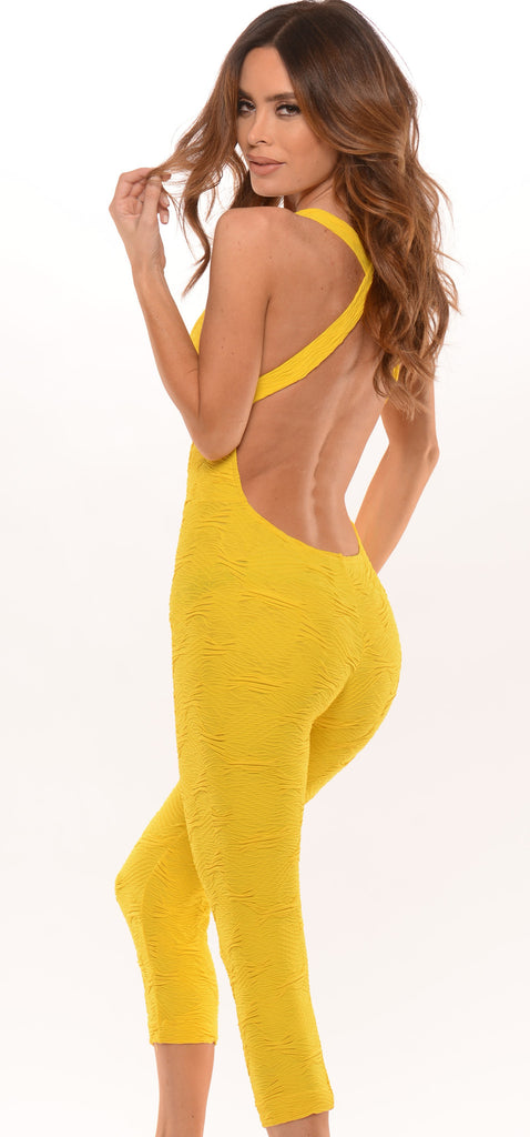 Miss Flirty (wavy yellow)