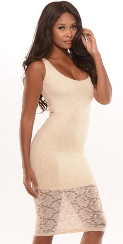 So Seductive Dress Ivory