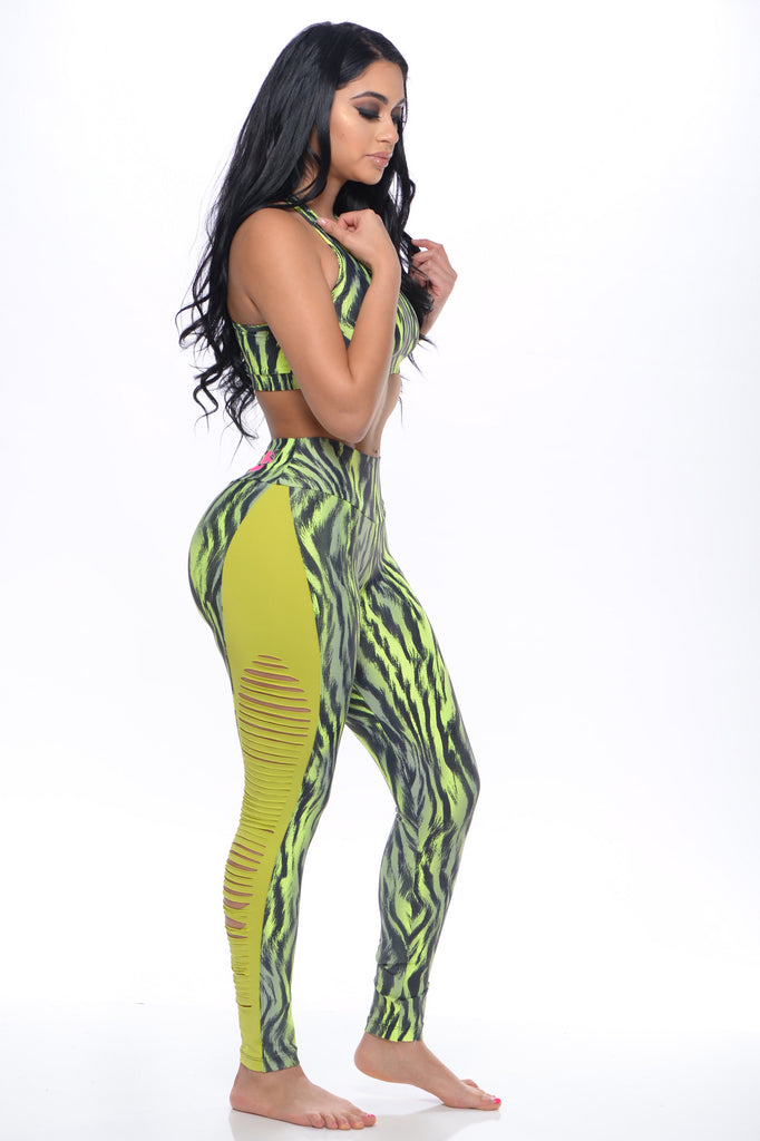 Lime Savage Tiger Set