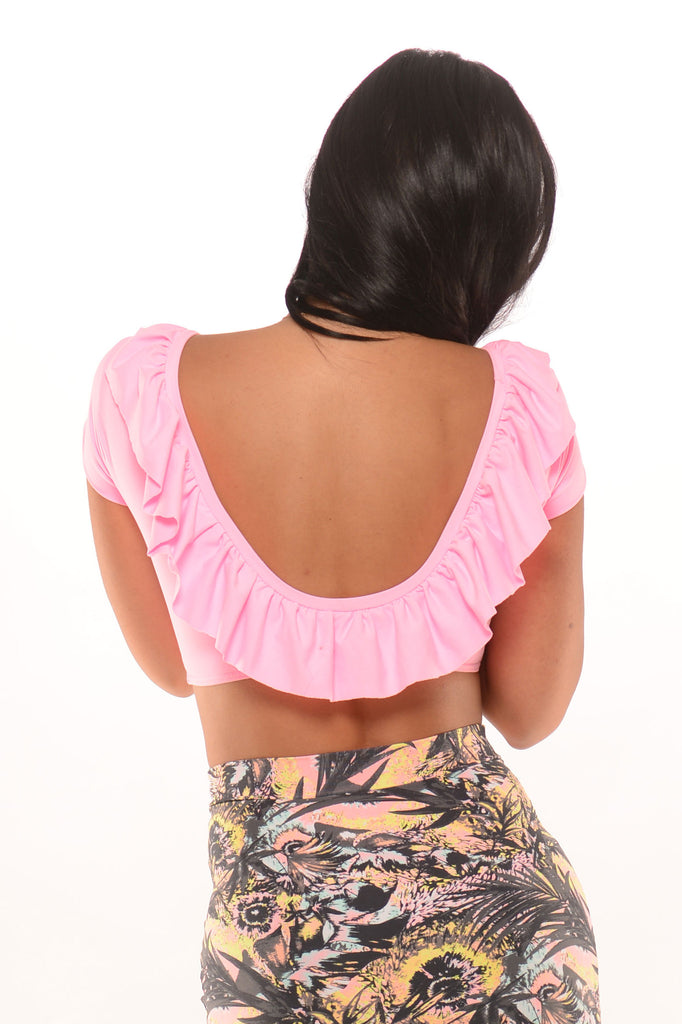 Ms Flirty Fringe Top