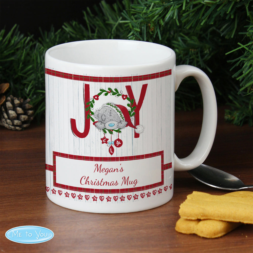 Personalised Me To You JOY Mug - Ceylon Teabox