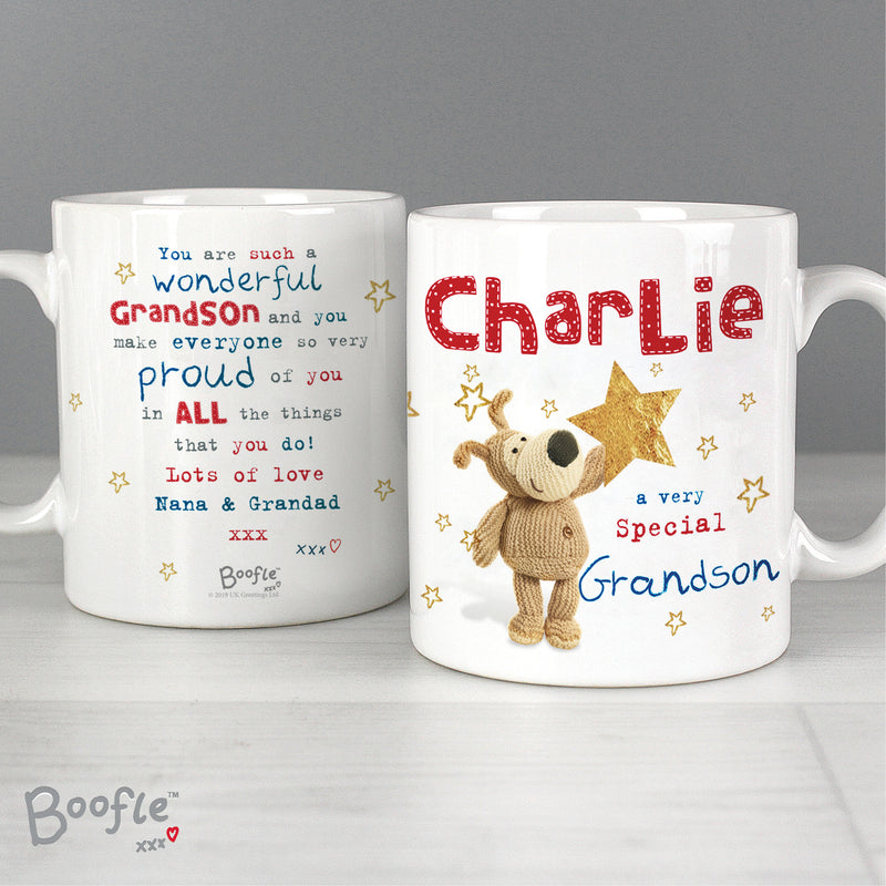 Personalised Boofle Very Special Star Mug - Ceylon Teabox