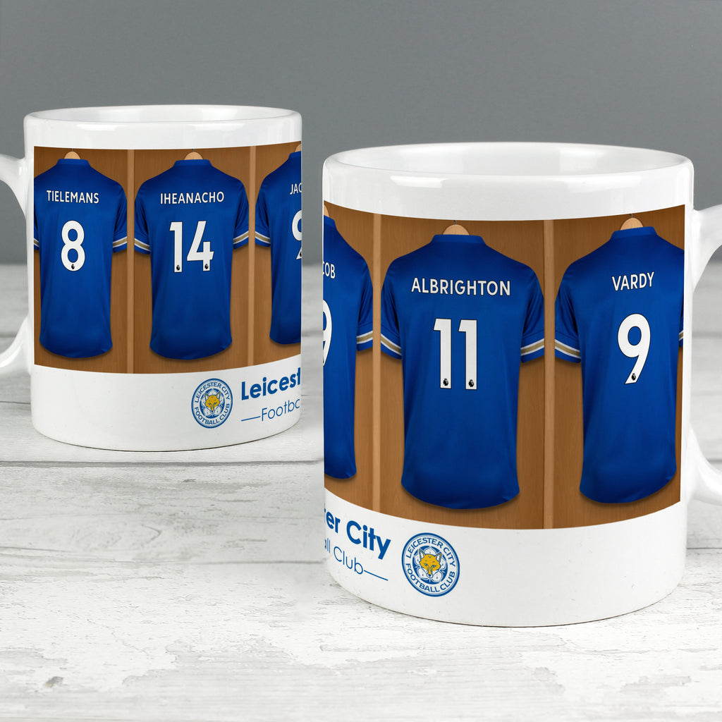 Personalised Leicester City Football Club Dressing Room Mug - Ceylon Teabox