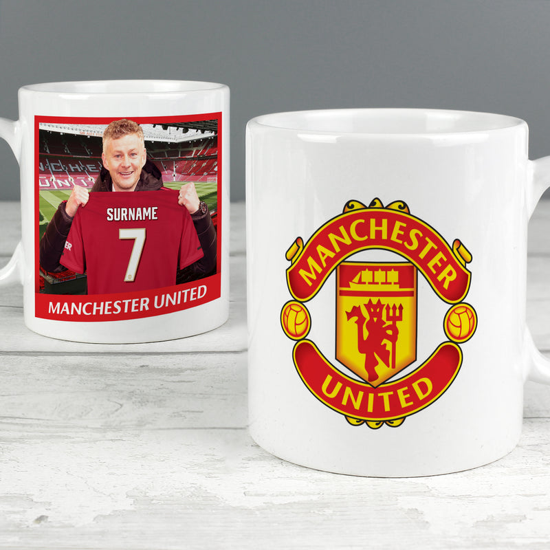 Personalised Manchester United FC Manager Mug - Ceylon Teabox