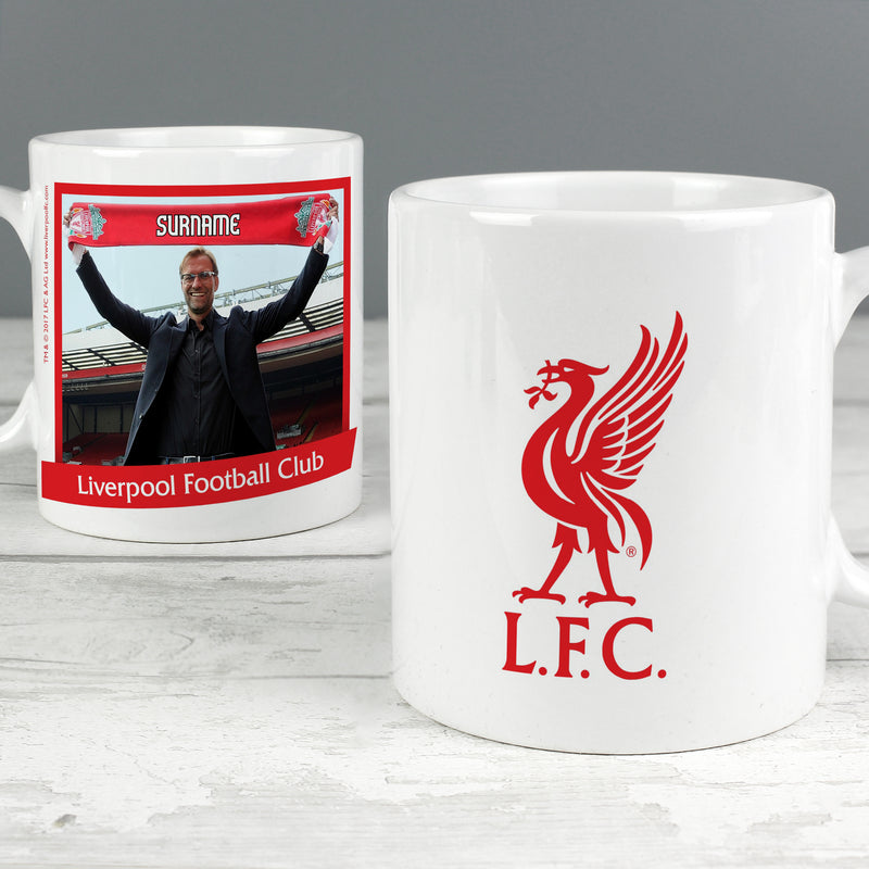 Personalised Liverpool FC Manager Mug - Ceylon Teabox