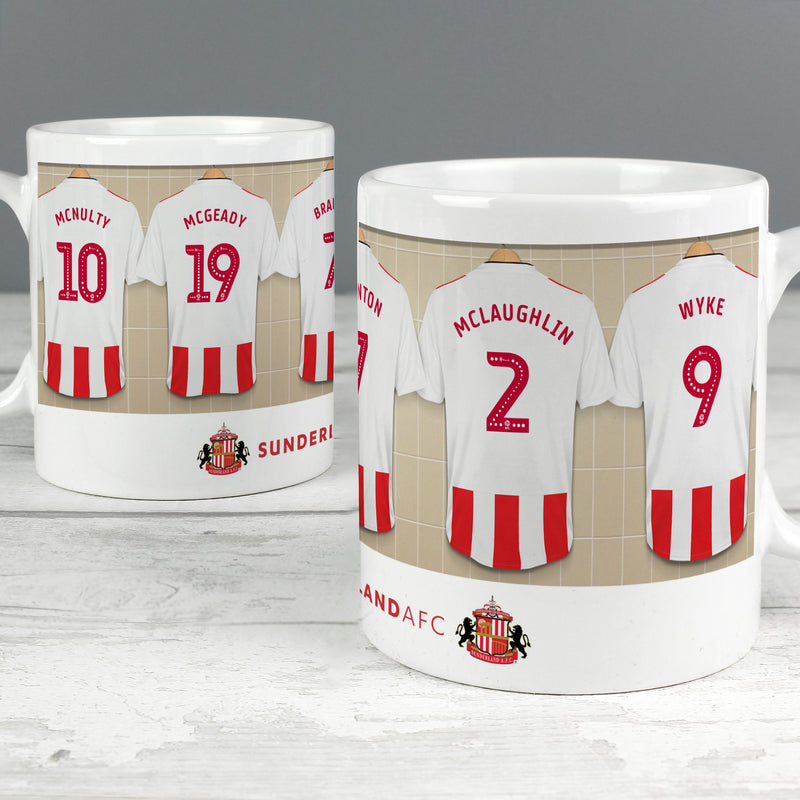 Personalised Sunderland Athletic Football Club Dressing Room Mug - Ceylon Teabox