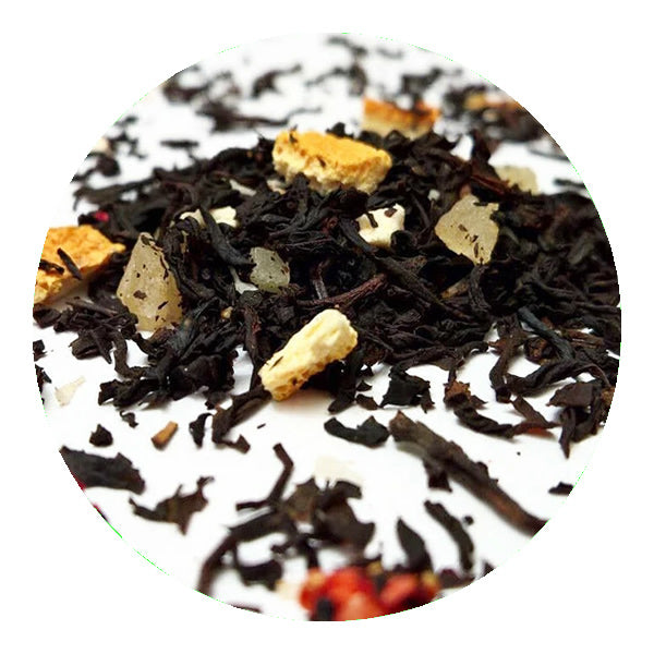Pure Ceylon Strawberry and Cherry Loose Leaf Black Tea (BOP) - Ceylon Teabox
