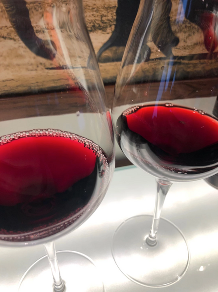 Do you know the difference between your Malbec and your Merlot? What is the difference in colour in the glass?