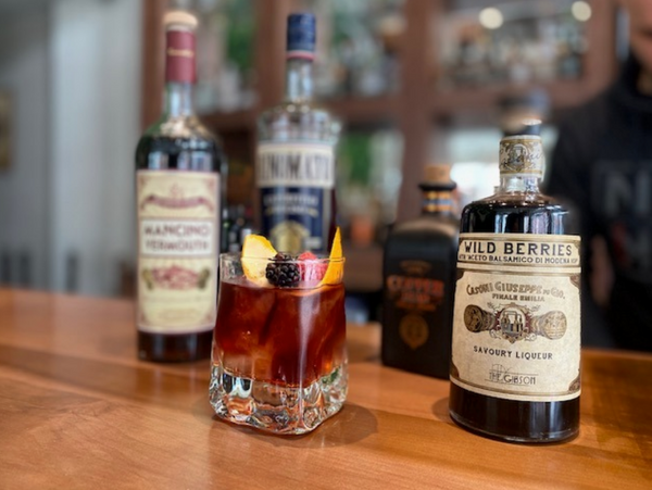 perfect Negroni, with a twist!