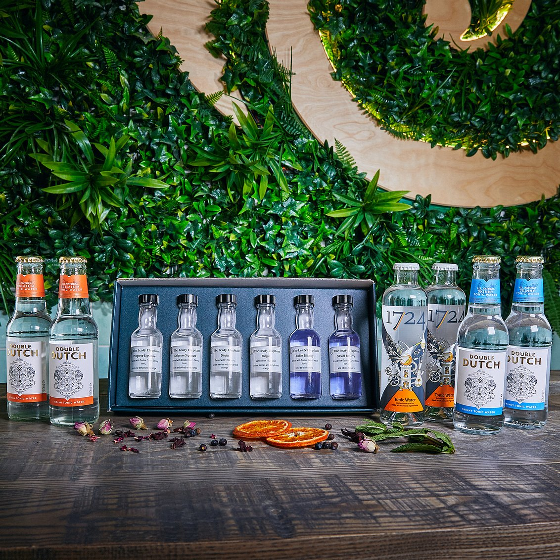 Floral gin tasting experience for two