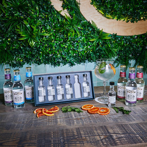 Aromatic gin tasting experience for two