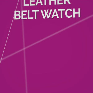 Charlotte - Women's Leather Belt Watch