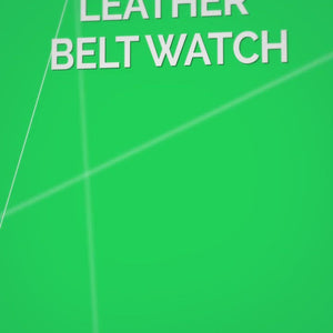 Matthew - Men's Leather Belt Watch