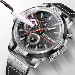 Aiden - Men's Sapphire Mirror Watch freeshipping - Hour Essence