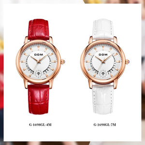 Amelia - Women's Leather Belt Watch Hour Essence
