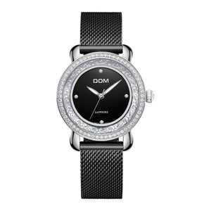 Camila - Women's Sapphire Mirror Watch Hour Essence