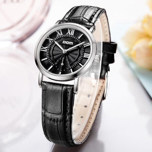 Charlotte - Women's Leather Belt Watch Hour Essence