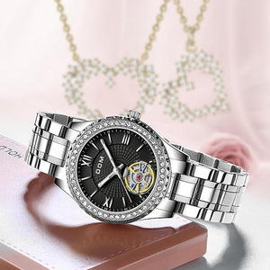 Emma - Women's Sapphire Mirror Watch freeshipping - Hour Essence