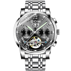Henry - Men's Steel Band Watch freeshipping - Hour Essence