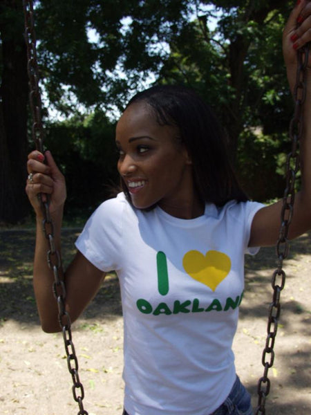 Women's yellow & green tee