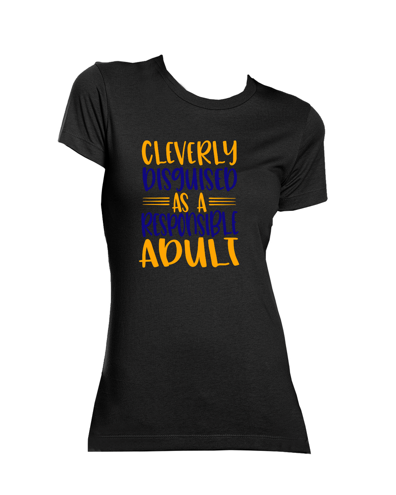 SGRho Cleverly Disguised Graphic Tee