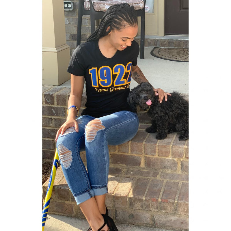 SGRho Royal1922 Embroidered Tee