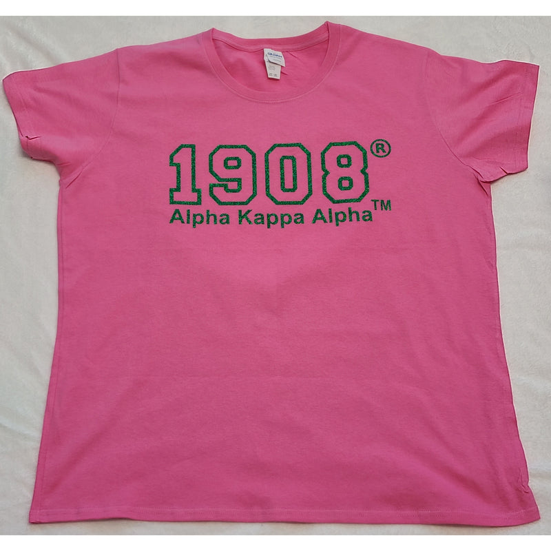 Pink AKA Clearance discontinued 1908 Shirt Size Medium