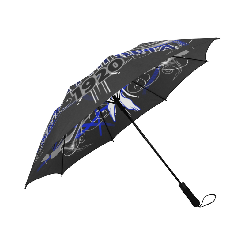 Black Retro Zeta Umbrella (May take up to 16 business days to ship)